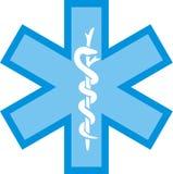 omsorgshälsologo stock illustrationer