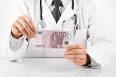 omsorgshälsomedicin royaltyfri foto