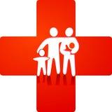 omsorgshälsovård vektor illustrationer