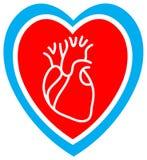 omsorgshjärta Arkivbild