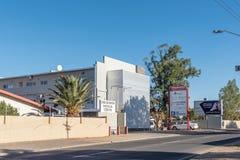 Omuramba centrum medyczne w Eros, przedmieście Windhoek fotografia stock