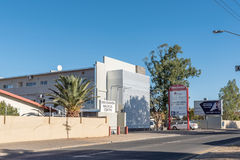 Omuramba Medical Centre in Eros, a suburb of Windhoek stock photography