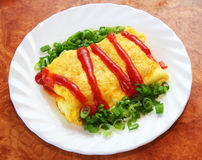 Omurice Royalty Free Stock Photos