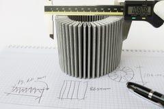 Omvänd teknik för bränslefilter royaltyfri bild