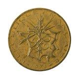 omvänt mynt 1978 för fransk franc 10 fotografering för bildbyråer