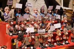 Omväxlande hantverk om sport och fotboll av det baskiska landet Arkivfoton
