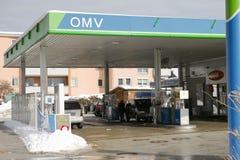 OMV Royalty Free Stock Photography