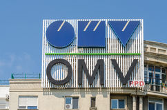 OMV Fuel Company Royalty Free Stock Photo