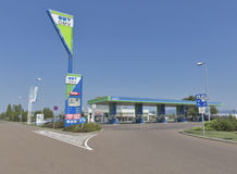 OMV petrol filling station in Hungary Royalty Free Stock Photography