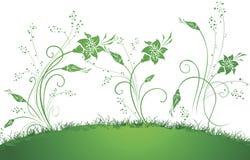 omvandlade blommor Arkivfoto