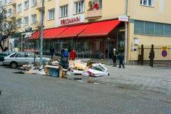onödiga cleaninggdynia objekt Fotografering för Bildbyråer