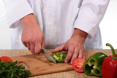 On A Kitchen Board Stock Photography
