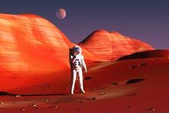 On Mars Royalty Free Stock Photos