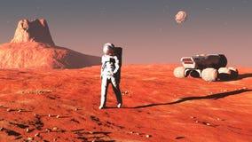 On Mars Stock Photos