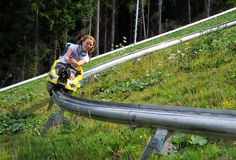 Free On The Bobsled Run Stock Photography - 14577302
