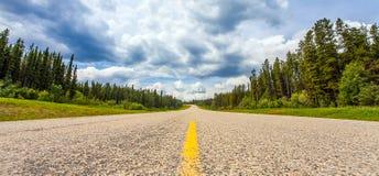 Free On The Highway Between Grande Prairie And Grande Cache Alberta Stock Image - 138911071