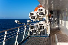 On The Ship Deck Stock Images
