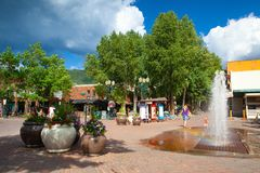 Free On The Street In Aspen, Colorado, USA Stock Photo - 132532860