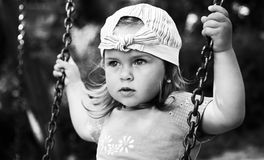 Free On The Swings Royalty Free Stock Photography - 1617857