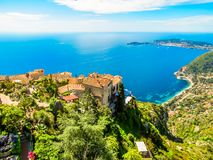 On The Top Of The Eze Village. Provence, France Stock Images