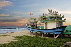 On The Waterfront Danang. Vietnam. Royalty Free Stock Images
