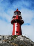 Ona lighthouse royalty free stock photography