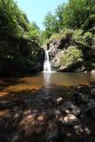 Onaangeroerde waterval Royalty-vrije Stock Foto's