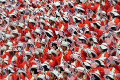 Onafhankelijke de dagparade van Maleisië royalty-vrije stock foto's