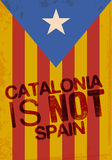 Onafhankelijkheid Catalonië vector illustratie