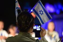 Onafhankelijkheid dag Israël 2016 stock foto's