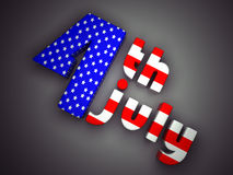 Onafhankelijkheid Dag Verenigde Staten Stock Afbeeldingen