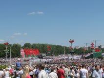 Onafhankelijkheid dag Wit-Rusland Stock Foto