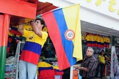 Onafhankelijkheid Day.Colombia Stock Fotografie