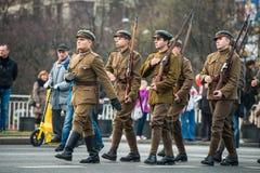 Onafhankelijkheid van Polen Stock Fotografie