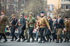 Onafhankelijkheid van Polen Royalty-vrije Stock Fotografie
