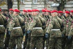 Onafhankelijkheid van Polen Stock Afbeelding