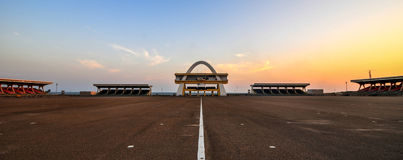Onafhankelijkheidsboog, Accra, Ghana Stock Fotografie