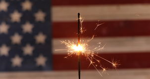 Onafhankelijkheidsdag in Amerika stock video