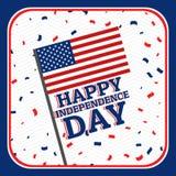 Onafhankelijkheidsdag - 4 juli Royalty-vrije Stock Foto's