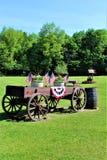 Onafhankelijkheidsdag, Vierde van Juli, de Verenigde Staten van Amerika Royalty-vrije Stock Foto