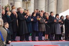 Onafhankelijkheidsdag in Vilnius Stock Afbeelding