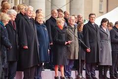 Onafhankelijkheidsdag in Vilnius Stock Foto