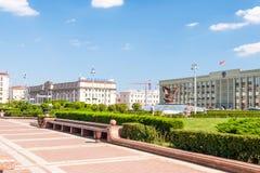 Onafhankelijkheidsvierkant, Minsk Royalty-vrije Stock Foto's