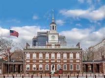 Onafhankelijkheidszaal - Philadelphia, Pennsylvania, de V.S. stock foto