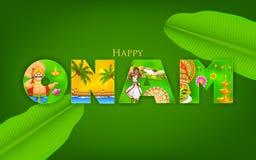 Onam Background Stock Photo