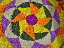 Onam flower festivel Stock Image