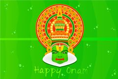 Onam Greetings Royalty Free Stock Photos