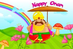 Onam Greetings Stock Images