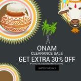 Onam royalty free illustration