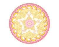 Onam pookalam background Royalty Free Stock Photos